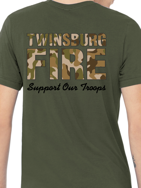 Duty Support Our Troops Short Sleeve T Shirt