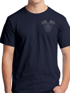 Northfield Fire Dept. - Flag & Boots Unisex T Shirt