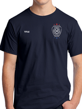 Load image into Gallery viewer, Northfield Fire Dept. - Star & Flag Unisex T Shirt
