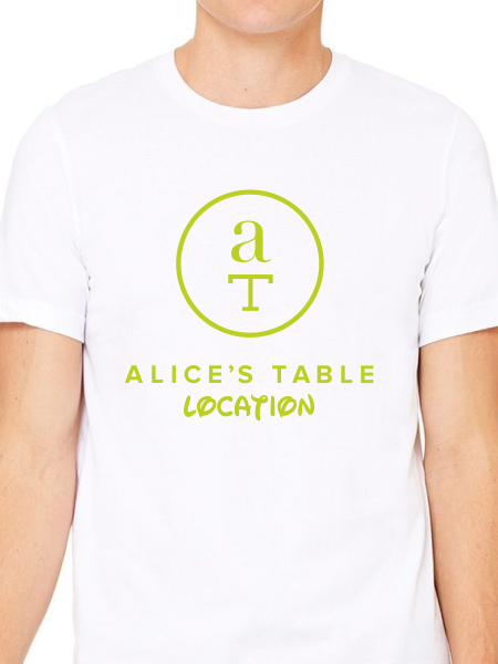 Alice's Table The Main Event Unisex Fit Tee