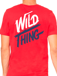 Wild Thing Unisex Short Sleeve Jersey V-Neck