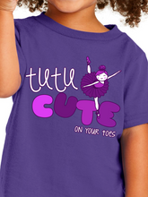 Load image into Gallery viewer, Tutu Cute Toddler T Shirt