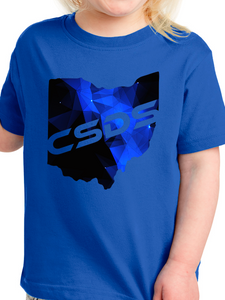 CSDS Galaxy Ohio Fine Jersey Toddler T Shirt