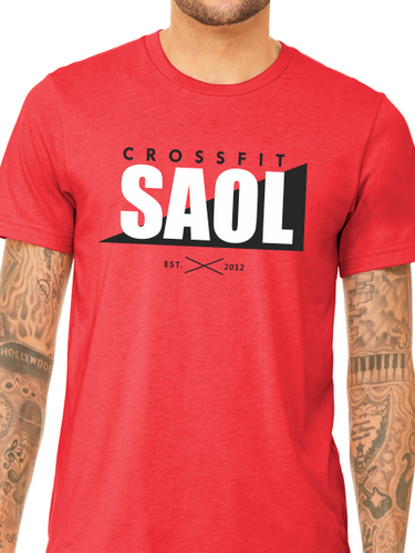 CrossFit SAOL Unisex Triblend Short Sleeve T Shirt