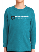 Load image into Gallery viewer, Momentum Youth Long Sleeve T Shirt - Horizontal