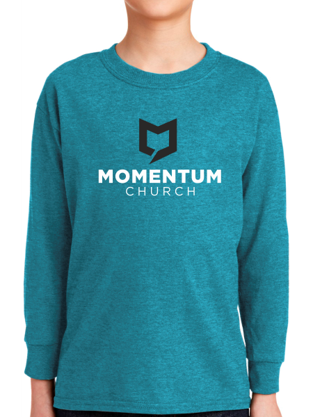 Momentum Youth Long Sleeve T Shirt - Stacked