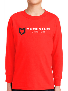 Momentum Youth Long Sleeve T Shirt - Horizontal