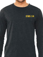 Load image into Gallery viewer, Columbus Fire - Eagle Diamond Plate Unisex Long Sleeve T Shirt ES/EMS