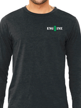 Load image into Gallery viewer, Columbus Fire - Eagle Banner Unisex Long Sleeve T Shirt ENGINE
