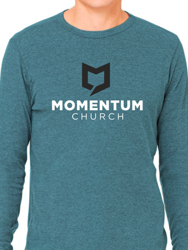 Momentum Long Sleeve T Shirt - Stacked