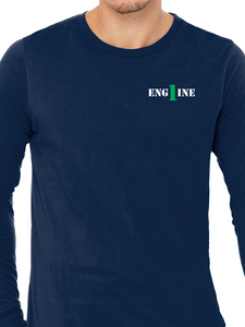 Columbus Fire - Eagle Banner Unisex Long Sleeve T Shirt ENGINE