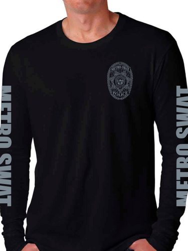 Metro SWAT Long Sleeve T Shirt