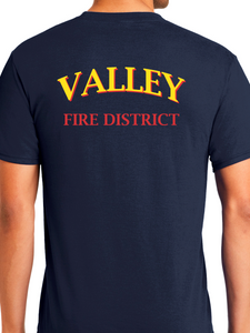 Valley Fire District Station Wear T Shirt