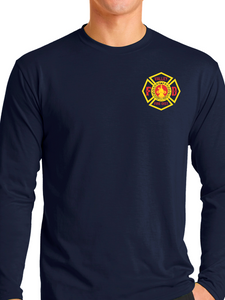 Valley Fire District Station Wear Long Sleeve T Shirt