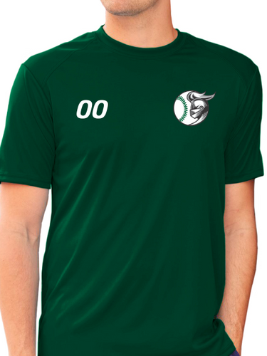 Nordonia Baseball & Number B-Core Short Sleeve T-Shirt