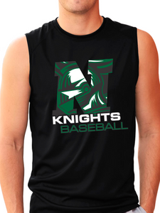 Nordonia Knights Baseball N B-Core Sleeveless T-Shirt