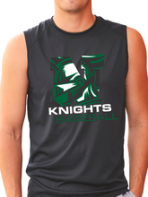 Load image into Gallery viewer, Nordonia Knights Baseball N B-Core Sleeveless T-Shirt