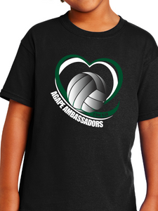 Agape Ambassadors Volleyball Youth T Shirt