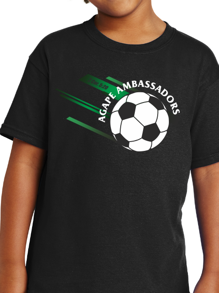 Agape Ambassadors Soccer Youth T Shirt