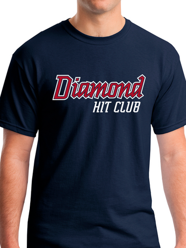 Diamond Hit Club Heavy Cotton Unisex Adult & Youth T Shirt
