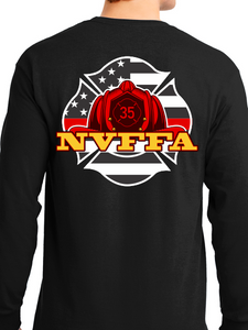 NVFFA - Helmet Unisex Long Sleeve T Shirt
