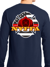Load image into Gallery viewer, NVFFA - Helmet Unisex Long Sleeve T Shirt