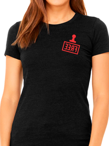 Cleveland Free Stamp Women's T Shirt