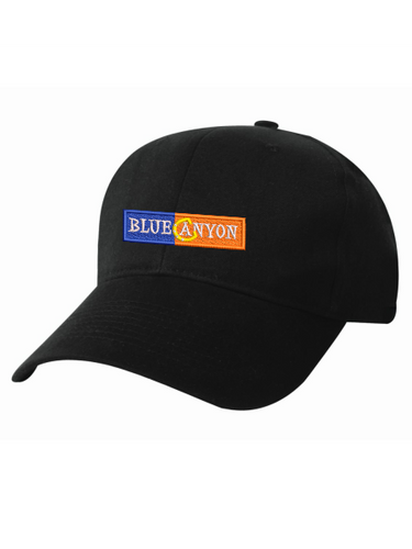 Blue Canyon - Constructed Brushed Cotton Twill Cap