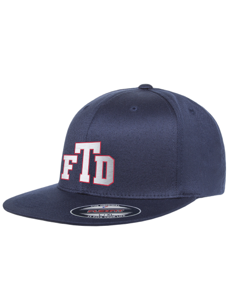 TFD Initials Flexfit Pro-Baseball On-Field Hat