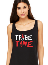Load image into Gallery viewer, Women's Tribe Time / Tribe Town Relaxed Jersey Tank