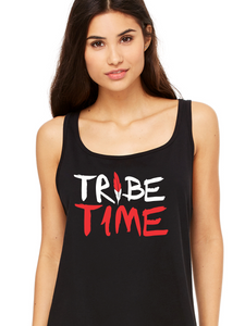 Women's Tribe Time / Tribe Town Relaxed Jersey Tank