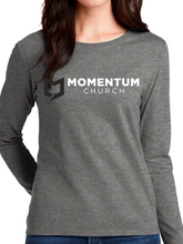 Load image into Gallery viewer, Momentum Women's Long Sleeve T Shirt - Horizontal