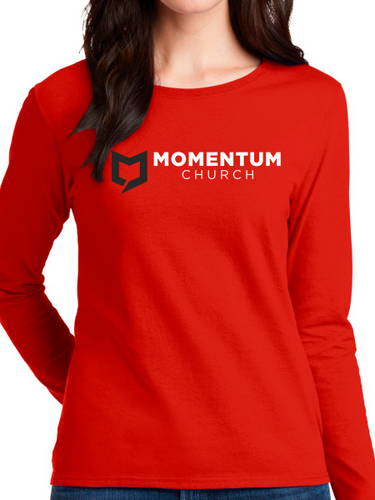 Momentum Women's Long Sleeve T Shirt - Horizontal