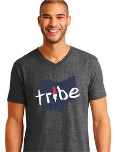 Unisex Tribe Ohio Triblend V-Neck