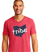 Load image into Gallery viewer, Unisex Tribe Ohio Triblend V-Neck