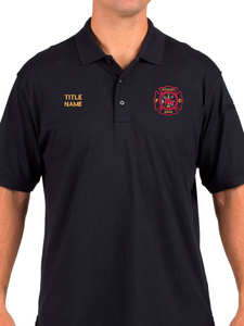 Macedonia Fire Dept. Tactical Duty Jersey Polo