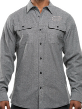 Load image into Gallery viewer, VMS Long Sleeve Solid Flannel Shirt