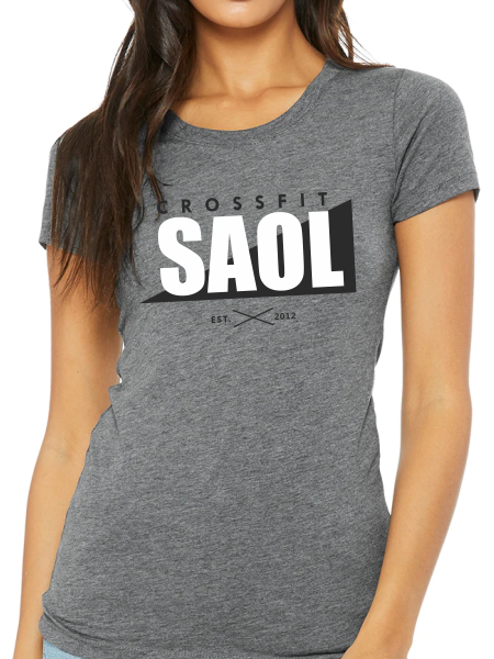 CrossFit SAOL Women's Triblend Short Sleeve T Shirt