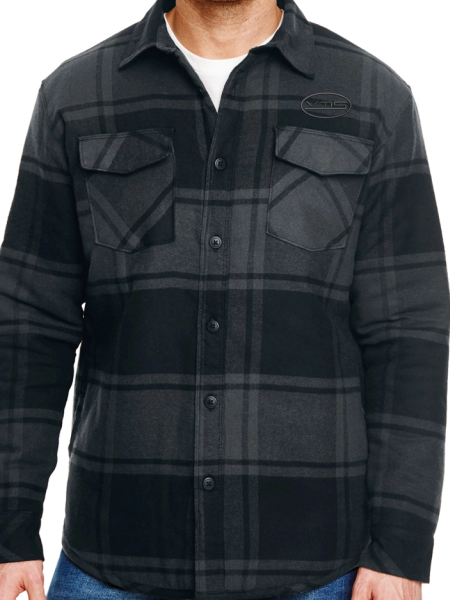 VMS Quilted Flannel Jacket