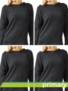 Teddy Fleece Women's Crewneck Pullover
