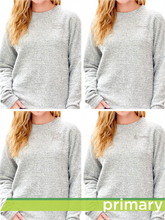 Load image into Gallery viewer, Teddy Fleece Women's Crewneck Pullover