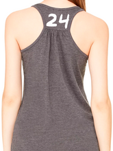 Load image into Gallery viewer, Nordonia Softball Hair Don't Care Flowy Racerback Tank