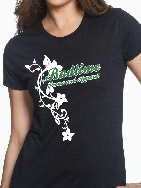 Badlime Flowers Women's T Shirt