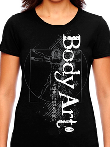 Body Art Sketch Women's T Shirt