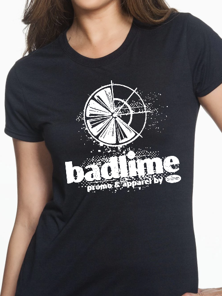 Badlime Distressed Women's T Shirt