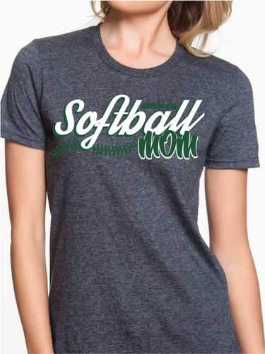 Nordonia Softball Mom Script Custom T Shirt