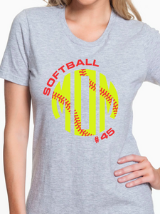 Nordonia Softball Mom Custom T Shirt