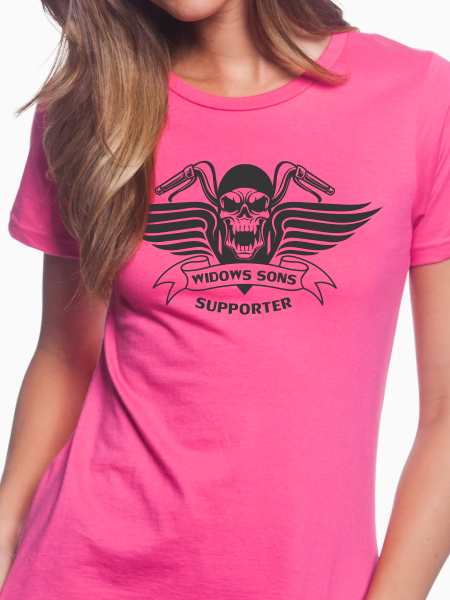 Women's Skull & Wings T Shirt