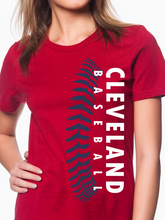 Load image into Gallery viewer, Cleveland Baseball Women's T Shirt