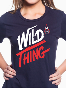 Wild Thing Indians Women's T Shirt